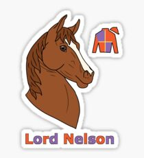 Lord Nelson Sticker