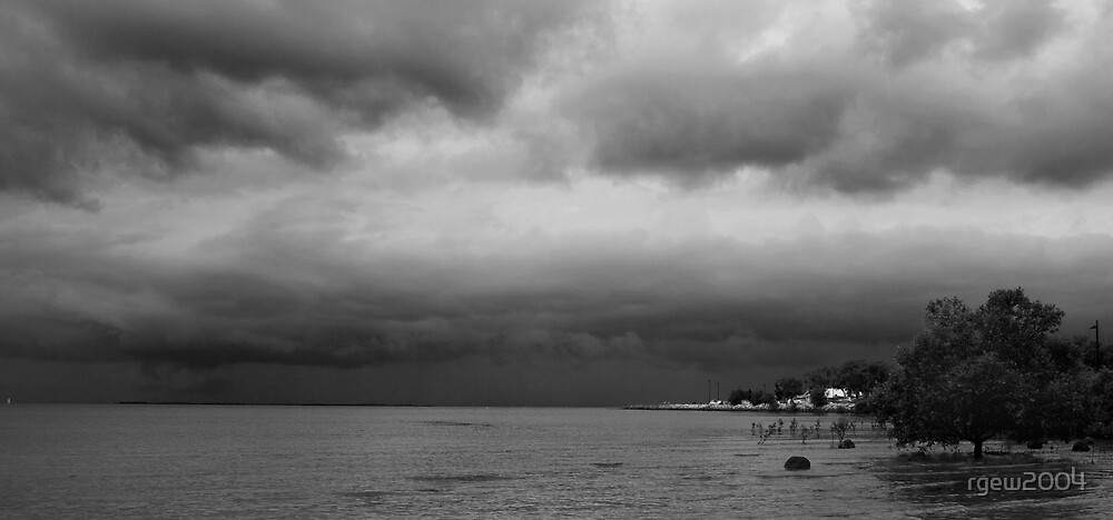 Storms Over Manly by Greg Halliday