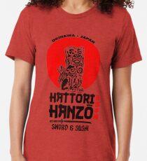 Camiseta de tejido mixto Hattori Hanzo