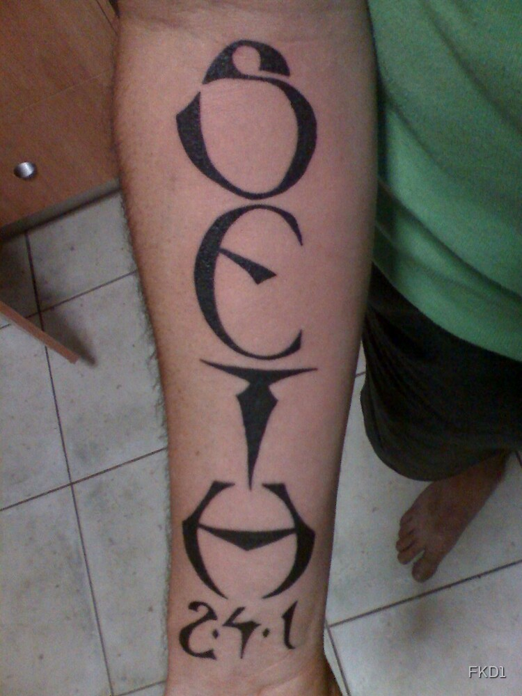 my first tat by FKD1