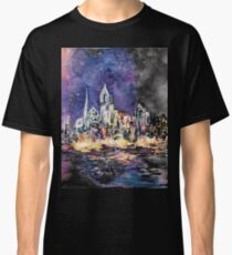 Lucid Cartography Watercolour Painting (Cityscape) Classic T-Shirt