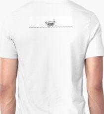 Swimming boy Unisex T-Shirt