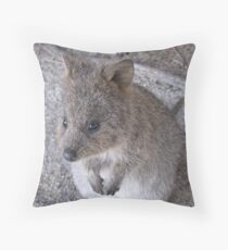 Hello Quokka - Rottnest Island 1 Throw Pillow