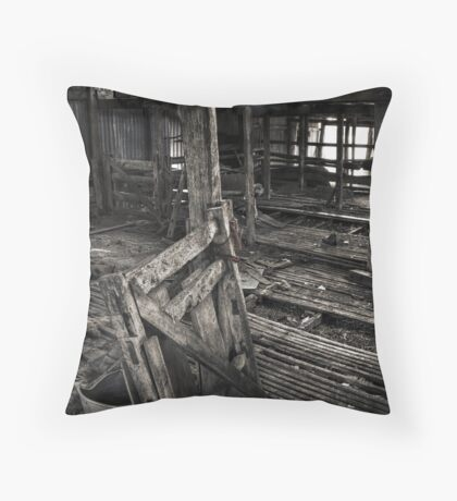 Wool Shed II Throw Pillow