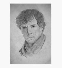 Sherlock Holmes - Sherlock (Drawing) Photographic Print