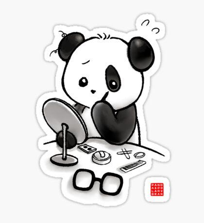 Panda Makeup Sticker