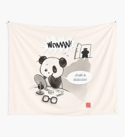 Woman! Wall Tapestry