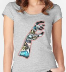 Zombies Chronicles  Women's Fitted Scoop T-Shirt