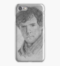 Sherlock Holmes - Sherlock (Drawing) iPhone Case/Skin