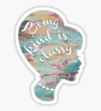 Thoughts by Audrey Hepburn Sticker