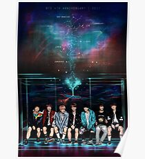 SMILES IN THE GALAXY | BTS CONSTELLATION SERIES Poster