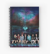 SMILES IN THE GALAXY | BTS CONSTELLATION SERIES Spiral Notebook