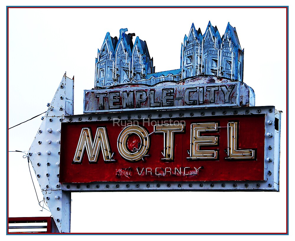 Temple City Motel - South Salt Lake City, Utah by Ryan Houston