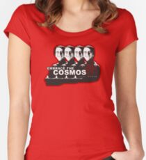 Carl Sagan - Embrace the Cosmos Women's Fitted Scoop T-Shirt