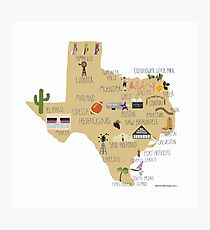 Great State of Texas Photographic Print