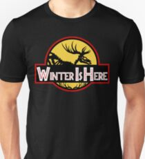 Winter Is Here Jurassic Fury Unisex T-Shirt