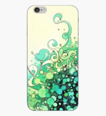 Visible Connections - Watercolor and Pen Art iPhone Case