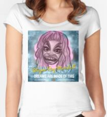 WAYNE RAY MARSHALL - HEAD IN THE CLOUDS - BOLD QUEENS Women's Fitted Scoop T-Shirt