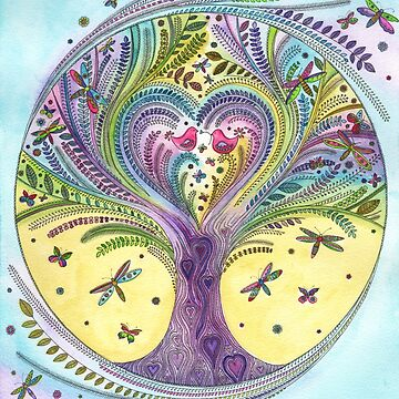 Tree of Life and Love by SarahTravisArt