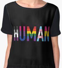 HUMAN Pride Chiffon Top