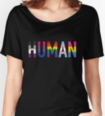 HUMAN Pride Women's Relaxed Fit T-Shirt