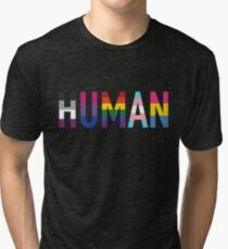 HUMAN Pride Tri-blend T-Shirt