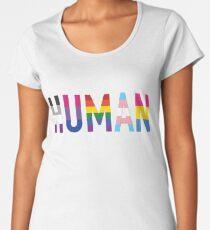 HUMAN Pride Women's Premium T-Shirt
