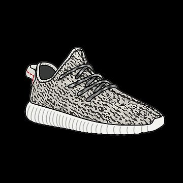 Yeezy Boost 350 Sticker  by Street-King