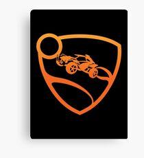 Rocket League - Crest (Orange) T-Shirt & Memorabilia Canvas Print