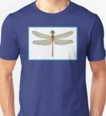 Male Blue-Faced Meadowhawk Unisex T-Shirt