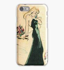 Golden Age Phone Girl 3 iPhone Case/Skin