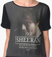 SHEERAN Women's Chiffon Top