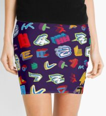 Korean consonants Mini Skirt
