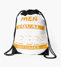 HORSE GROOM Drawstring Bag