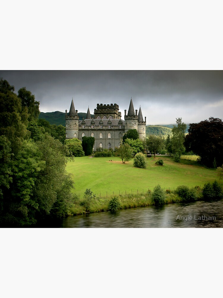 The Castle of  Clan Campbell by AngelaBarnett
