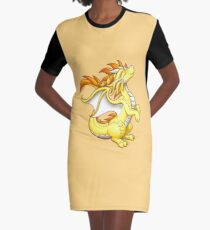 Sun Dragon Graphic T-Shirt Dress