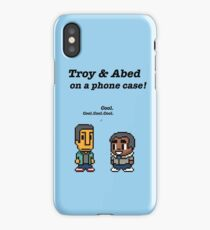 Troy and Abed · Community · TV show iPhone Case/Skin