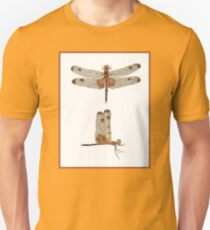 Male Calico Dragonfly - 2 Views Unisex T-Shirt