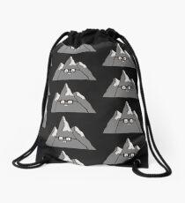 Nerd Mount Cleverest Drawstring Bag