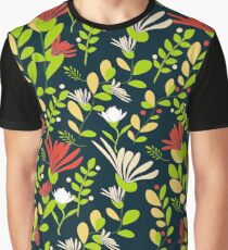 estampado floral clásico Graphic T-Shirt