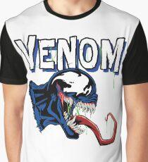 Venom White Art Graphic T-Shirt