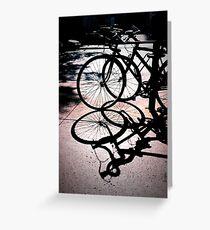 Shadow Velo Greeting Card