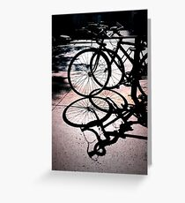 Shadow Velo Greeting Card