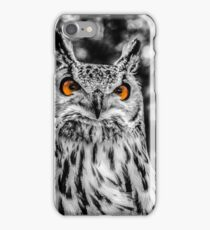 The Angry Owl iPhone Case/Skin