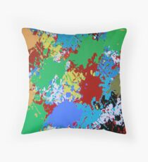 (COLOR RULES-A) ERIC WHITEMAN ART Throw Pillow