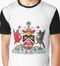 Trinidad and Tobago Coat of arms Graphic T-Shirt