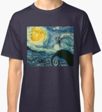 A Starry Nightmare Before Christmas Classic T-Shirt