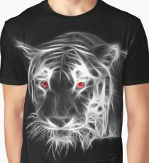 Tiger Glowing BW Graphic T-Shirt