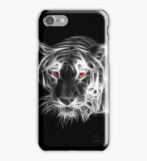 Tiger Glowing BW iPhone Case/Skin