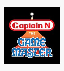 Captain N : The Game Master Photographic Print